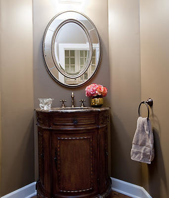 Powder Bathroom Custom Vanity
