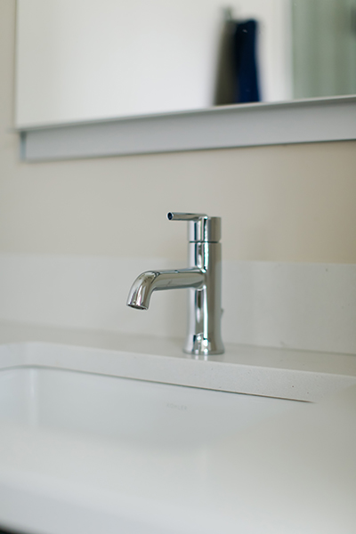 Indianapolis Jack and Jill Bath Remodel - Faucet