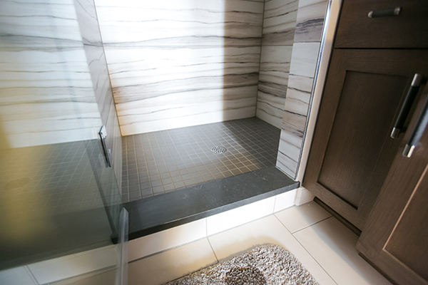 Indianapolis Jack and Jill Bath Remodel - Shower