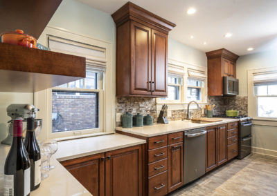 Small Dated Broad Ripple Kitchen Gets Total Transformation
