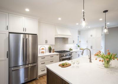 Classic Open Concept Kitchen