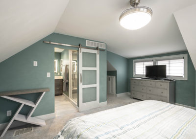 Small Dated Broad Ripple Master Suite Gets Total Transformation