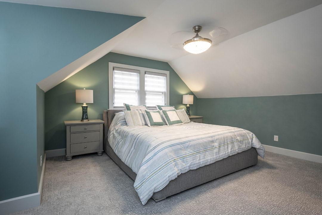 master bedroom vaulted ceilings