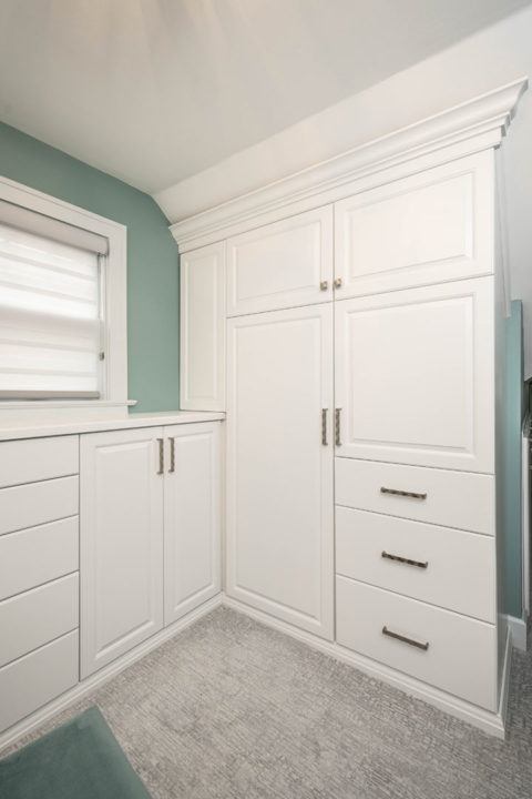 master bedroom custom closet