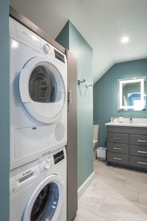 master bedroom laundry