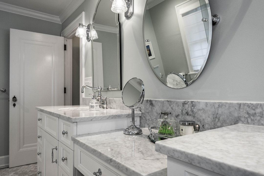 Master Bathroom Marble Vanity