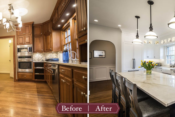 Shaker Kitchen Remodel Before & After