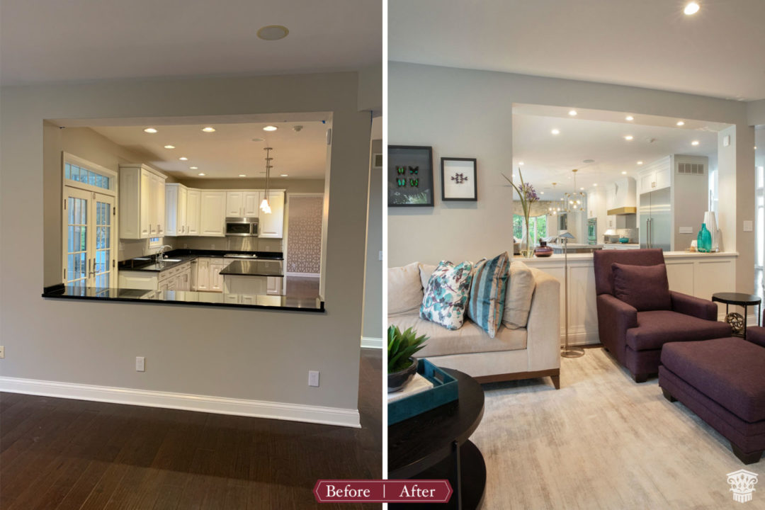 Kitchen Living Room Pass Through