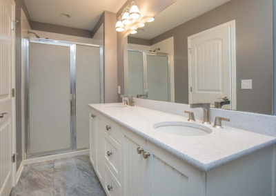 Lakehouse Total Transformation – Master Bathroom, Powder Bathroom & Guest Bathroom