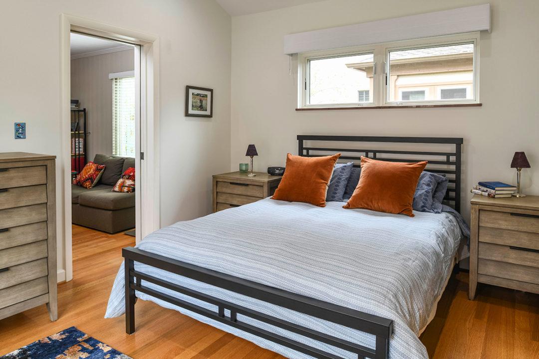 modern master bedroom suite