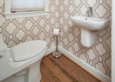 Classic Open Concept – Powder Bath Remodel