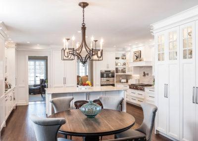 Classic Elegant White Kitchen Renovation