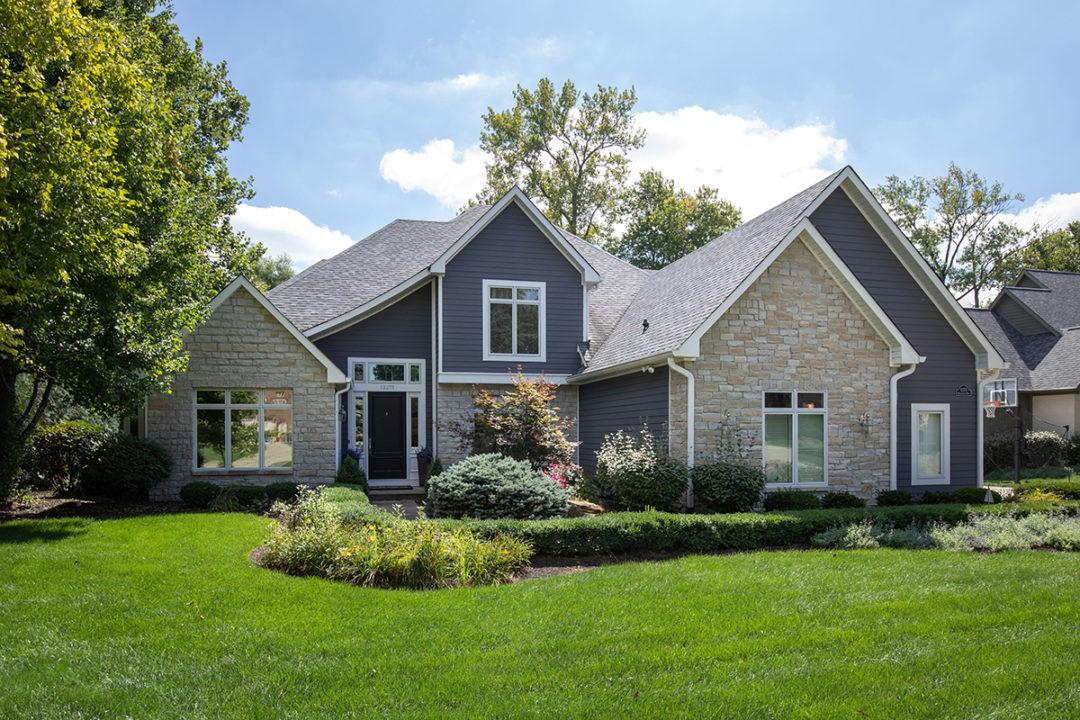 lakehouse gray exterior stone
