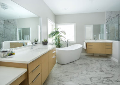 Dreary Master Bath Gets Contemporary Update