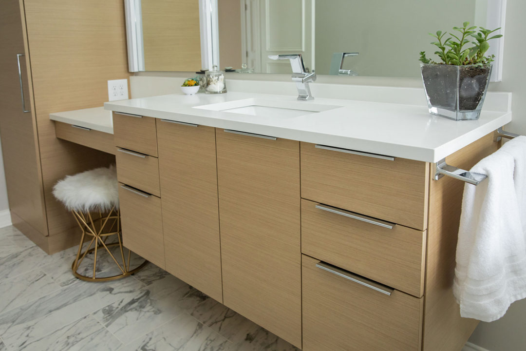 Contemporary Master Bath Vanity