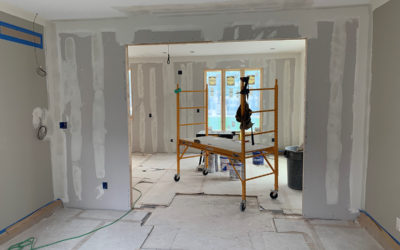 Drywall Phase for Remodeling Projects