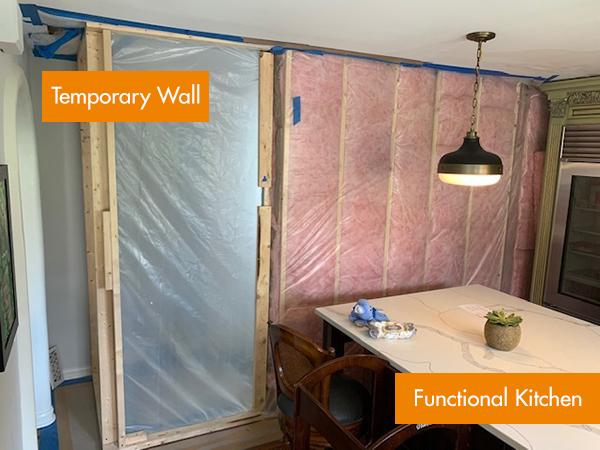 remodeling site prep