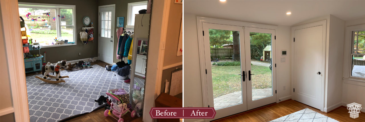 mudroom, vaulted ceiling, storage options, bench, lockers