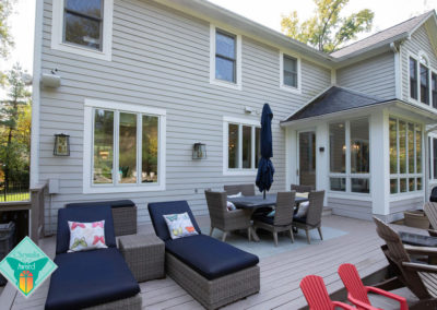 Glamorous Kitchen, Dining and Living Renovation with Entertaining in Mind – Exterior