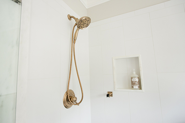 Hand Held Shower in Gold