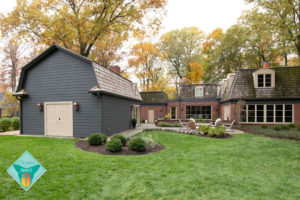 golf pavilion, entertainers space, patio, multiple seating area, firepit