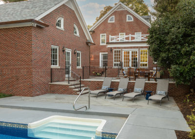 Gorgeous Detached Garage Addition and Patio