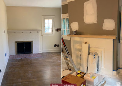 In Progress: Historical Home Restoration to its Glory Days