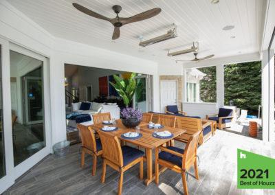 Modern Technology Enhances Indoor – Outdoor Living Remodel