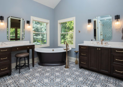 Master Suite gets a Spa-like Renovation with Luxury Style