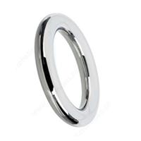 Americo metal round pulls, cabinet hardware, silver ring door pulls