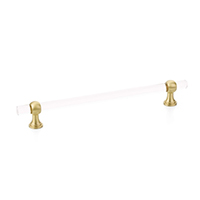 crystal brass pulls, cabinet hardware