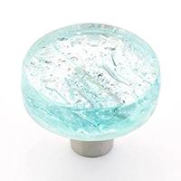 custom glass knob, cabinet hardware