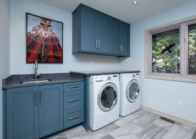 Dated 70's Laundry Room Gets Contemporary Makeover