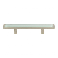 frosted glass pull, cabinet hardware