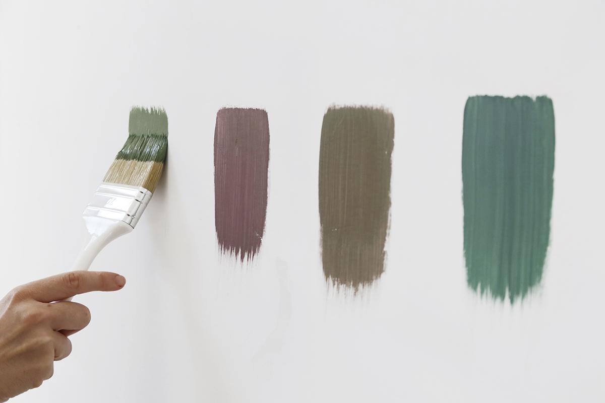 paint finish, eggshell, satin, flat, semi-gloss, high-gloss