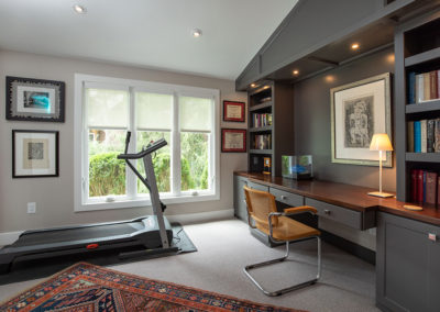 Transforming a Porch into a Fabulous Office and Additional Enhancements Throughout the House