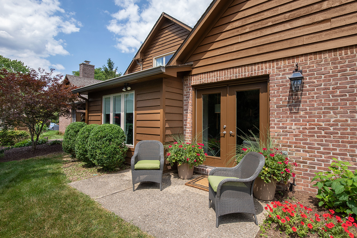 screened in porch becomes office, porch to office, patio, double door, natural light
