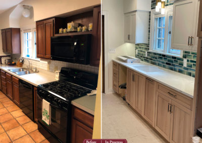 In Progress: Updated Kitchen Renovation in Historical Home